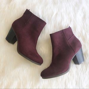 Old Navy • Maroon Booties